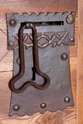 Interesting doorknob for the latrine!