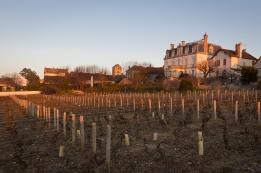 Chateau at sunrise