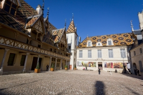 Inner Courtyard, Hospices de Beaune