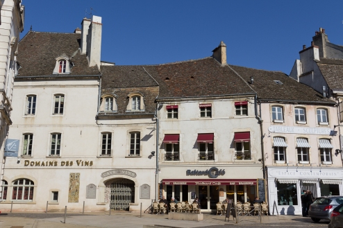 Beaune on a glorious winter day