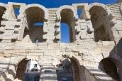 medieval window, Arles Amphitheatre