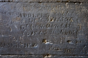 Ancient graffiti, Arles Amphitheatre