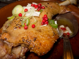 Duck in confit