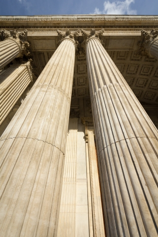 Columns of St Pauls
