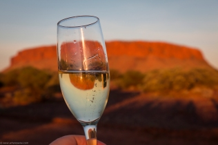 Champagne sunset at Mt Conner